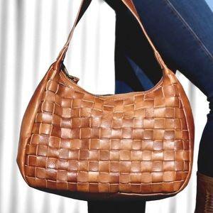 Bed Stu Labellum Handbag in Tan Driftwood